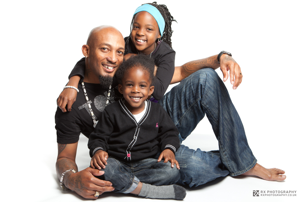 RX Photography studio portrait family