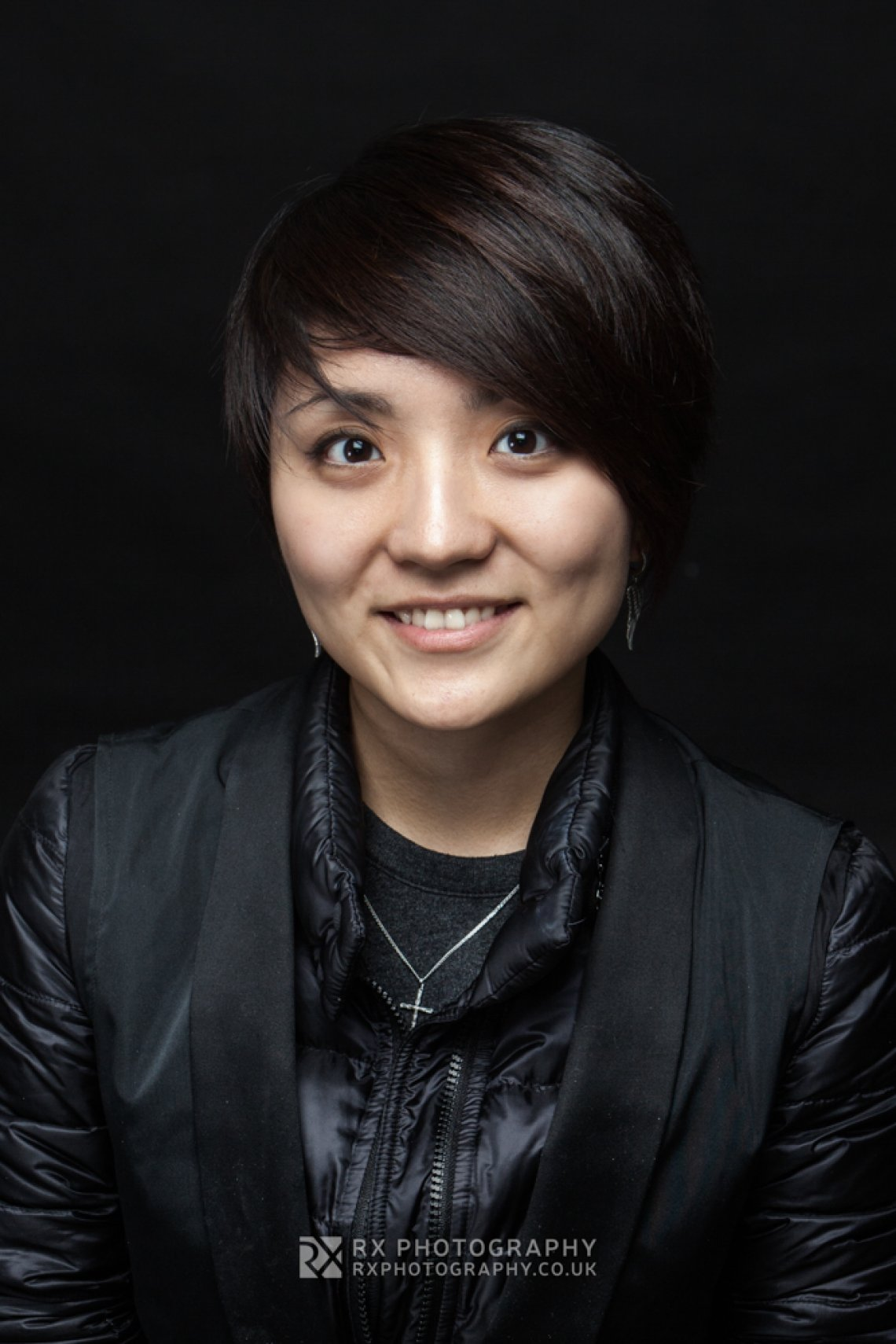RX Photography portrait headshot of young asian female professional